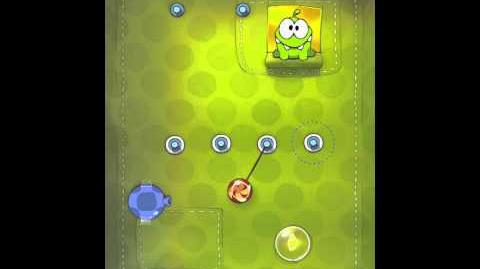 Cut the Rope 2-4 Walkthrough Fabric Box
