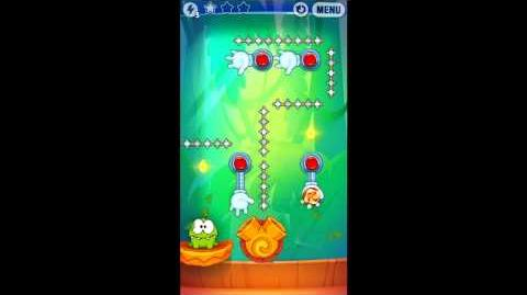 Cut The Rope Experiments - Level 8-16 - 3 Stars