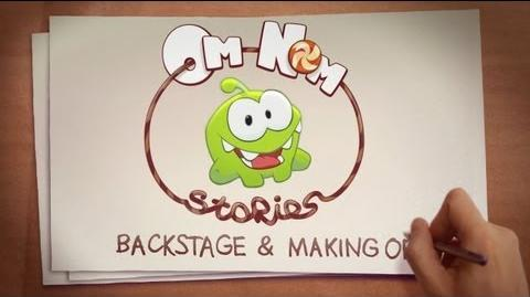 Om Nom Stories Backstage (Cut the Rope)