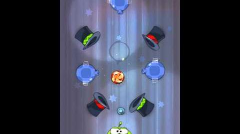 Cut the Rope 4-8 Walkthrough Magic Box