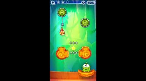 Cut The Rope: Experiments - Bamboo Chutes Level 8-7