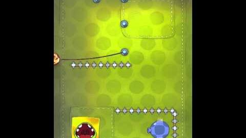 Cut the Rope 2-5 Walkthrough Fabric Box