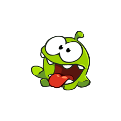 Om Nom wants to eat