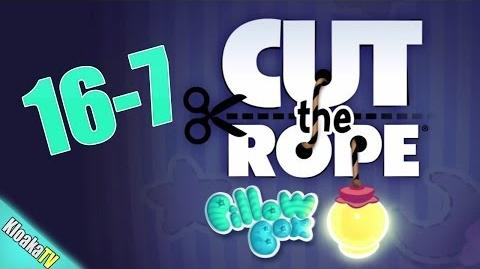 Cut The Rope 16-7 Pillow Box Walkthrough (3 Stars)