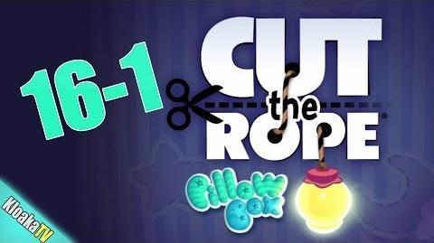 Cut The Rope 16-1 Pillow Box Walkthrough (3 Stars)