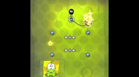 Cut the Rope 2-11 Walkthrough Fabric Box