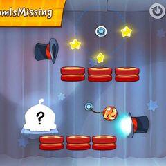 Om Nom missing in the original game.