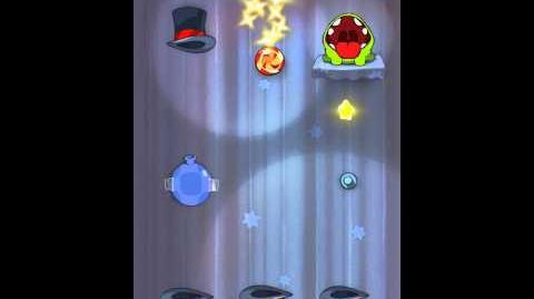 Cut the Rope 4-16 Walkthrough Magic Box