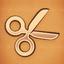 Achievement bronze scissors