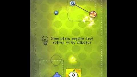 Cut the Rope 2-17 Walkthrough Fabric Box