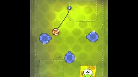 Cut the Rope 2-1 Walkthrough Fabric Box