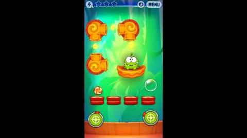 Cut The Rope: Experiments - Bamboo Chutes Level 8-13