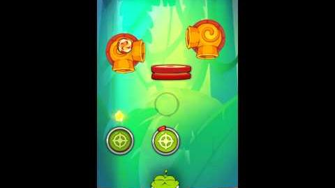 Cut The Rope: Experiments - Bamboo Chutes Level 8-21