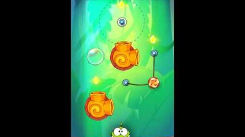 Cut The Rope: Experiments - Bamboo Chutes Level 8-19