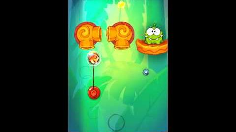 Cut The Rope: Experiments - Bamboo Chutes Level 8-17