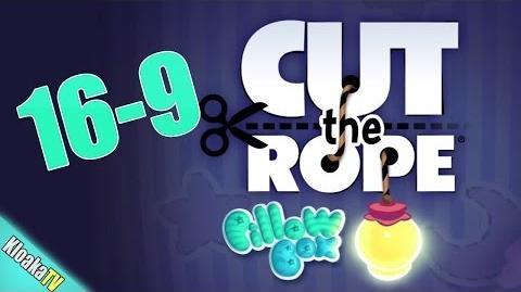Cut The Rope 16-9 Pillow Box Walkthrough (3 Stars)