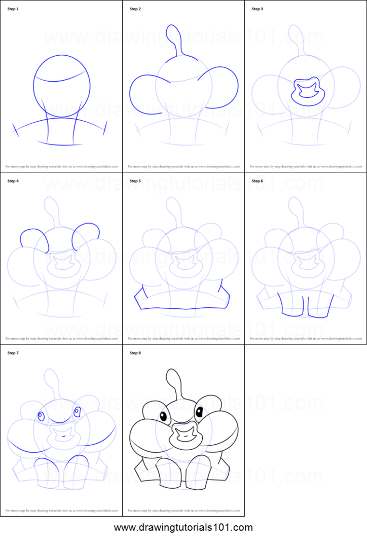 How-to-Draw-Lick-from-Cut-the-Rope-step-by-step