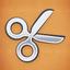 Achievement silver scissors