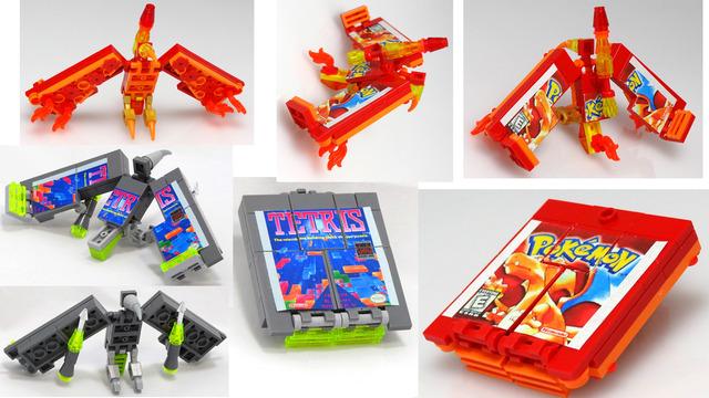 Transforming Retro Video Game Accessories 2