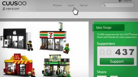 Lego Mini Shop on LEGO® CUUSOO