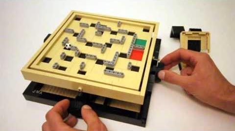 Custom LEGO Marble Maze