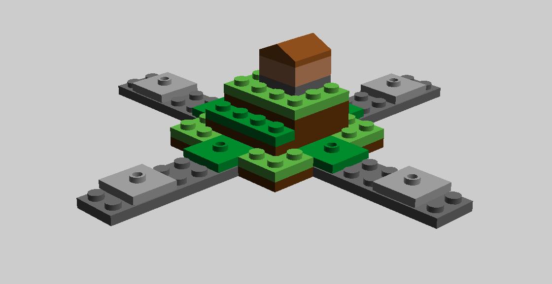 MINECRAFT Cave Explorer- Base Plate Creation