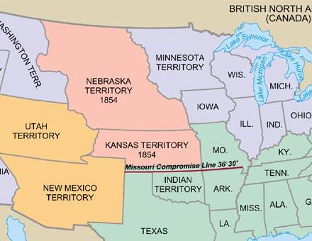 Kansas Nebraska Act | APUSH Study Group Wiki | FANDOM powered by Wikia