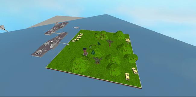 Island battle