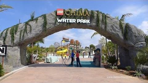 LEGO Legends of Chima Water Park Full Tour at Legoland California Resort