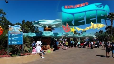 Explorer's Reef at SeaWorld San Diego
