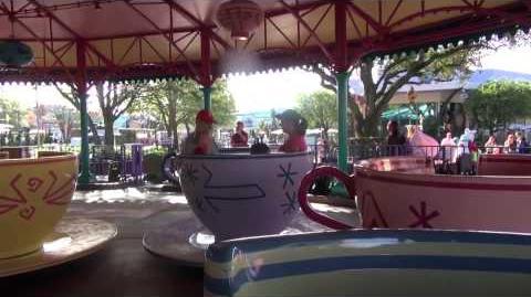 Mad Tea Party at The Magic Kingdom Walt Disney World - HDThrillSeeker