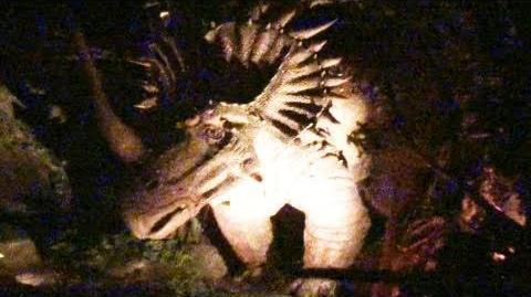 (WDW Animal Kingdom) Dinosaur! Front Seat (HD POV) Night-Vision Disney's Animal Kingdom Florida