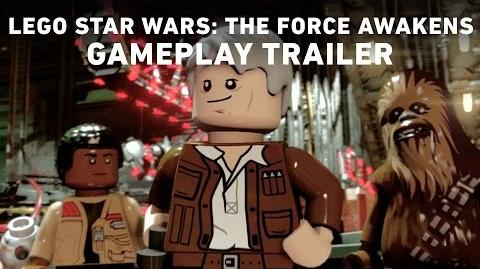 LEGO Star Wars The Force Awakens Gameplay Trailer