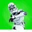 Icon emote battle class trooper man down