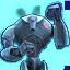 Icon hologram superDroid 64