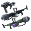 Icon Item Furniture Set Experimental Weapons Pack