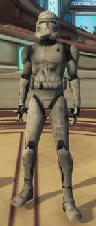 Ion Damaged Clone Trooper