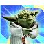 Icon hologram yoda 64