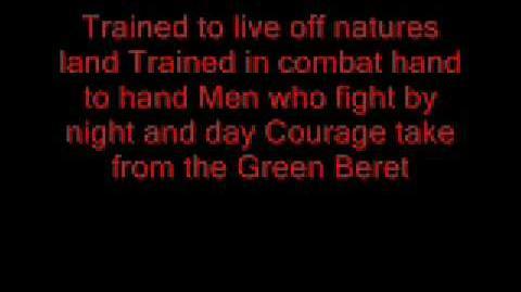 Ballad of the Green Berets