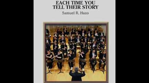 Each Time You Tell Their Story by Samuel R