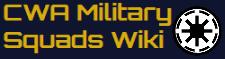 CWA Military Squads Wiki wordmark