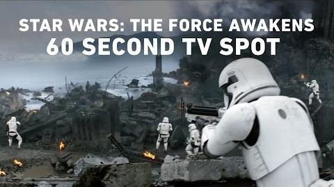 Star Wars The Force Awakens 60 Second TV Spot