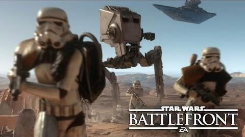 """Star Wars Battlefront Co-Op Missions Gameplay Reveal E3 2015 """"Survival Mode"""" on Tatooine"""