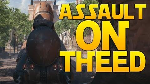 ASSAULT ON THEED - Full Round Gameplay - Star Wars Battlefront II