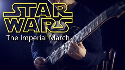 Star Wars - The Imperial March (Djent Cover by Denis Lozko with Tab)