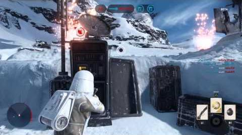 STAR WARS™ Battlefront™ Beta Hoth, Owning land and sea