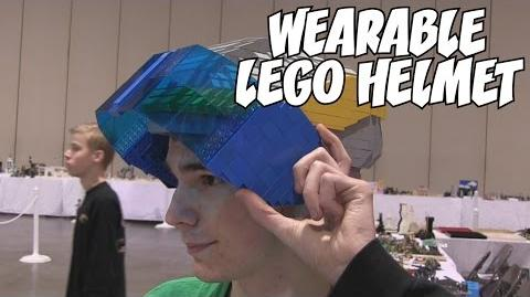 LEGO Universe Assembly Engineer Helmet MOC