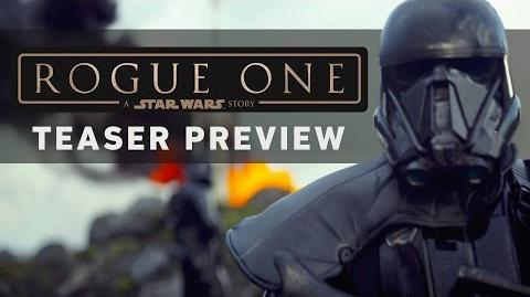 ROGUE ONE A STAR WARS STORY Teaser Preview