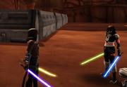 Jacen duels Kol
