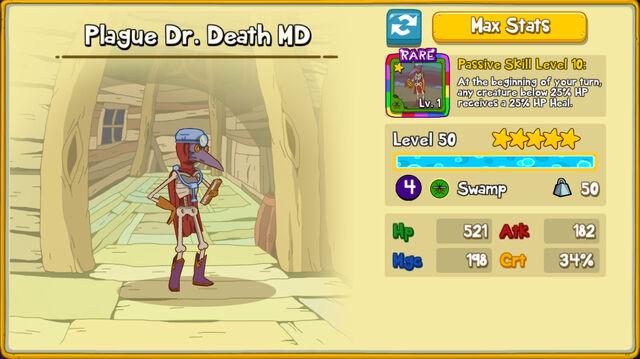 051 Plague Dr Death MD